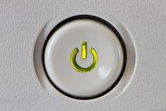 старт кнопки Стоковое Изображение RF