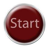 старт кнопки Стоковые Фотографии RF