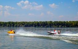 Старт конкуренции Powerboat Стоковое Изображение RF
