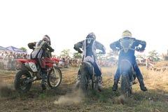 старт мотора участвуя в гонке Стоковое Фото