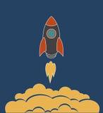 Старт ракеты космоса Стоковая Фотография RF