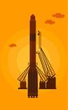 Старт ракет космоса Стоковая Фотография RF