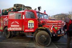 старт 2009 ралли bamako budapest Стоковая Фотография RF