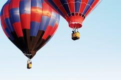 старт 5 воздушных шаров Стоковая Фотография RF