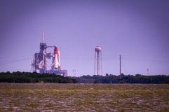 Старт Atlantis-STS-135 Стоковое фото RF