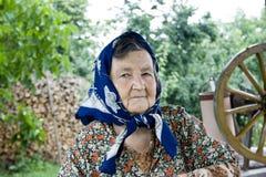 старуха Стоковая Фотография