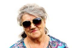 Старшая дама Стоковые Изображения