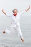Старшая женщина Стоковое Изображение RF