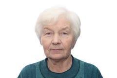 старшая женщина Стоковые Изображения RF