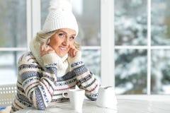 старшая сь женщина Стоковые Фотографии RF