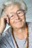 старшая ся женщина Стоковые Фото