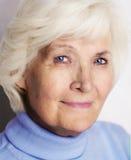 старшая ся женщина Стоковое Фото