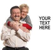 Старшие любовники Стоковая Фотография