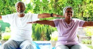 Старшие пары работая дома акции видеоматериалы