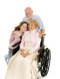 старшии внучки Стоковые Фото