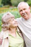 старшии пожилых людей пар Стоковые Изображения