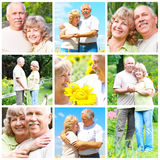 старшии пожилых людей пар Стоковая Фотография RF