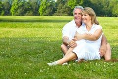 старшии пожилых людей пар