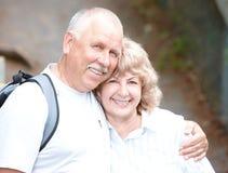 старшии пожилых людей пар Стоковые Фото