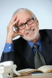 старший бизнесмена удачливейший Стоковое фото RF