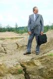 старший бизнесмена Стоковые Фотографии RF