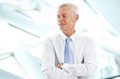 Старший бизнесмен Стоковая Фотография RF