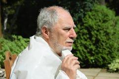 Старший брить Стоковые Фото