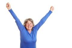 старший гражданина счастливый Стоковое Фото