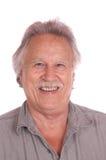 старший гражданина счастливый Стоковая Фотография