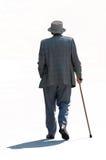 старший гулять Стоковое фото RF