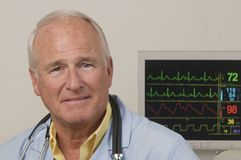 старший доктора медицинский Стоковое Изображение RF
