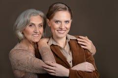 Старший и молодые женщины Стоковое Изображение RF