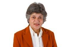 старший коммерсантки женский Стоковое фото RF