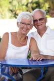 старший пар излучающий Стоковые Изображения RF