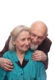 старший пар Стоковое Изображение RF