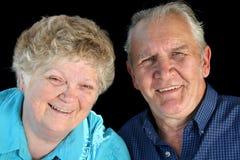старший пожененный парами Стоковая Фотография