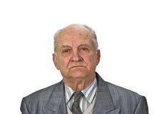 старший портрета человека стоковое изображение