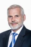 Старший портрет бизнесмена Стоковые Фото
