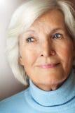 Старший портрет женщины Стоковая Фотография