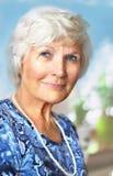 Старший портрет женщины Стоковое фото RF