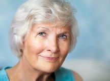 Старший портрет женщины Стоковые Фото