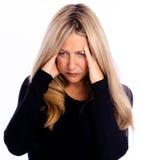 Старший стресс Стоковое фото RF
