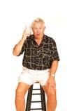 старший стула штанги Стоковое фото RF