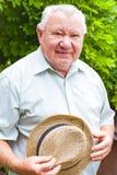 Старший счастливый человек стоковые фото