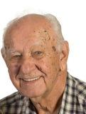 старший человека крупного плана Стоковое фото RF