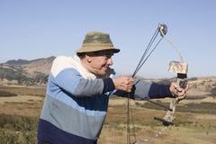 старший человека Стоковая Фотография