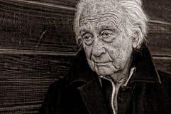старший человека Стоковые Изображения