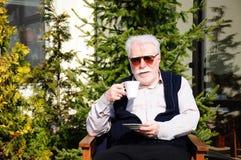 старший человека Стоковые Изображения RF