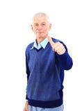 старший человека Стоковые Фото