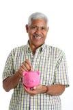 старший человека Стоковая Фотография RF